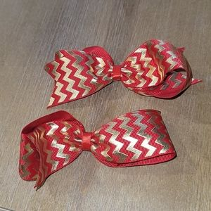 NWT Shimmy Shimmy Inc.. Holiday bows